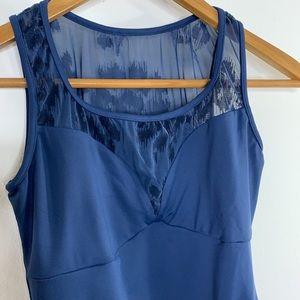 Mirella Swimsuit Size Medium Blue